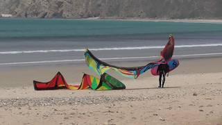 Surfing Presqu'ile de Crozon -Plage Goulien 2018, Bretagne Finistère, Coldplay,Windsurf, Kite