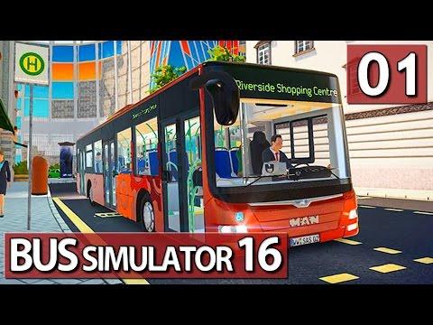 Bus Simulator 16 #01 Weltpremiere der Busfahr und Management Simulation