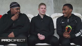Kevin De Bruyne assisting Chunkz & Yung Filly with the Banter 🤣 | KDB Boots & Bants