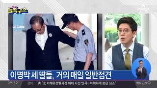 MB·박근혜, 폭염 속 옥중생활 어떤 모습?
