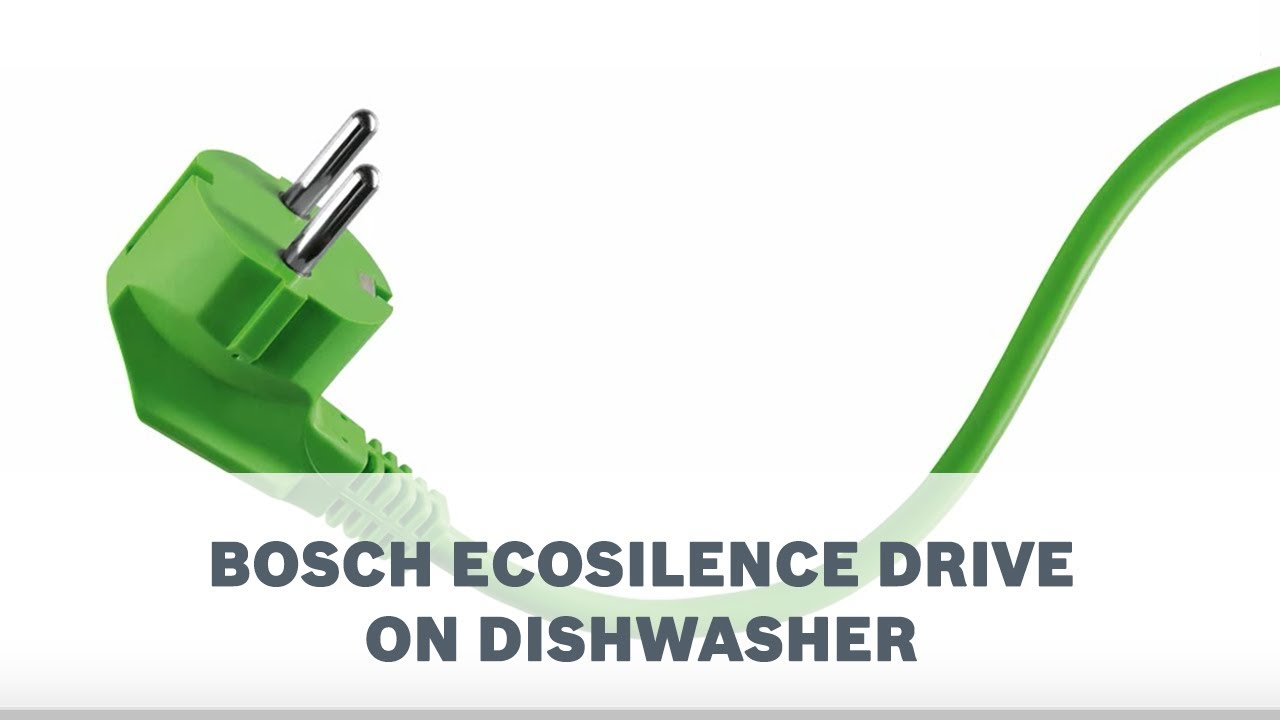 Save energy and the earth with bosch ecosilence drive