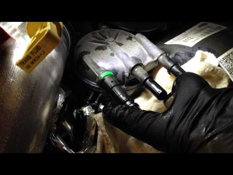 Ford Powerstroke 6.7l Fuel Filter change How to