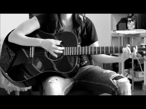 Birdy Maybe Guitar Cover Chords Acordes Youtube