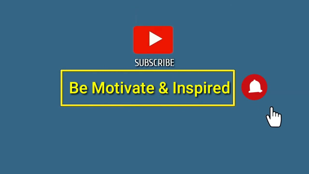 My New Intro (Be Motivate & Inspired)