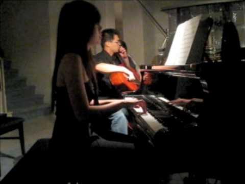 Pachelbel's Canon Duet (Rock) - Carmen Lai - Piano Cello Duet