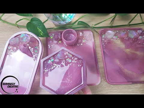 watch-me-resin-#50-|-mauve-and-pink-crystal-trays-|-seriously-creative