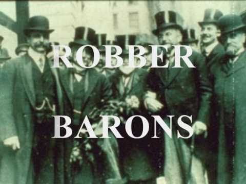 robber barons captains of industry Jul 1, 2014 definition and summary of the robber barons summary and definition: the term 'robber barons' was a derogatory term applied to powerful, wealthy industrialists, the captains of industry who monopolized the railroads, the steel industry, the tobacco industry, the oil industry and the financiers who.