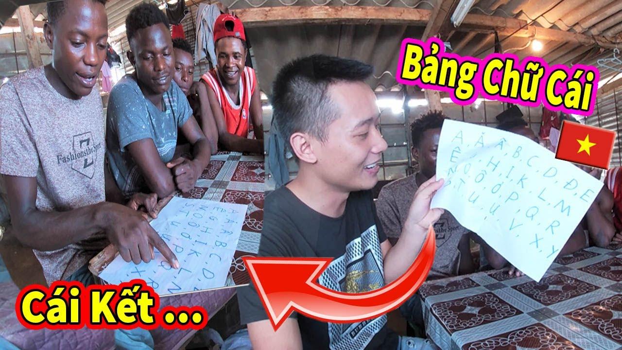 Quanglinhvlogs || Đưa Bảng Chữ Cái Của Việt Nam Cho Người Dân Châu Phi Đọc và …CÁI KẾT #258
