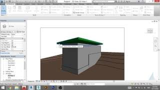 Crtanje kuce u Revit - u #5 - zidovi i krov