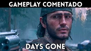 GAMEPLAY español DAYS GONE (PS4) JUGAMOS 1 HORA SIN SPOILERS