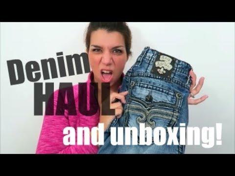 Denim HAUL Video! with Premium Label unboxing bonus!