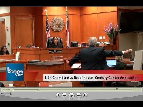 8-14 Chamblee vs Brookhaven: Century Center Annexation