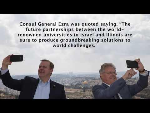 Helping Heal & Academic Agreements   Illinois to Israel: Episode 2