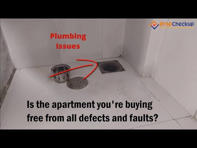 Home Inspection Tour - Is the apartment you're buying free from all defects and faults?