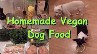 Homemade Vegan Dog food Recipe