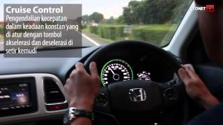 Mencoba fitur-fitur Honda HR-V