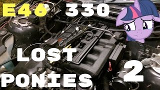 BMW e46 M54 330CI Power loss,low MPG,rough cold startups,misfire, DISA flap,INTAKE removal,CCV,ICV