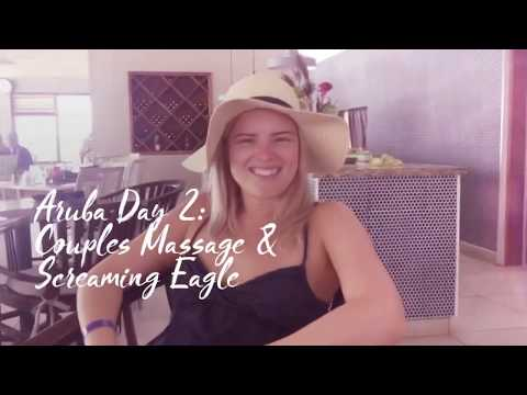 Aruba Honeymoon Day 2: Couples Massage & Screaming Eagle!