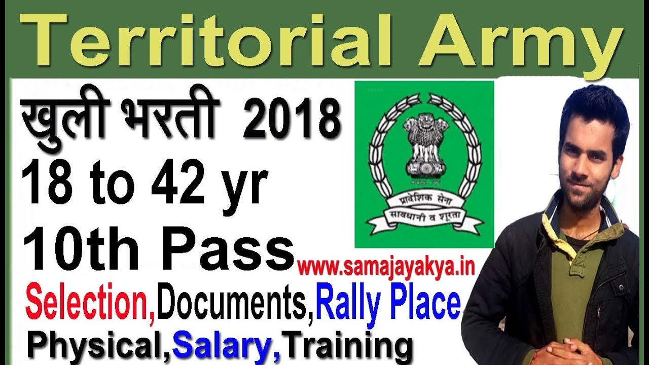 Territorial Army Previous Question Papers Pdf