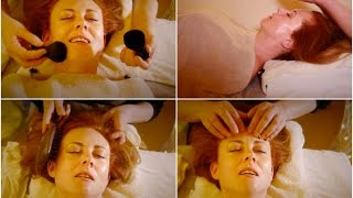 A Real ASMR Massage Treatment In London UK ✨ Face Massage,...