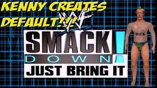 PS2: WWF Smackdown Just Bring It! Kenny Creates Default! - YoVideogames