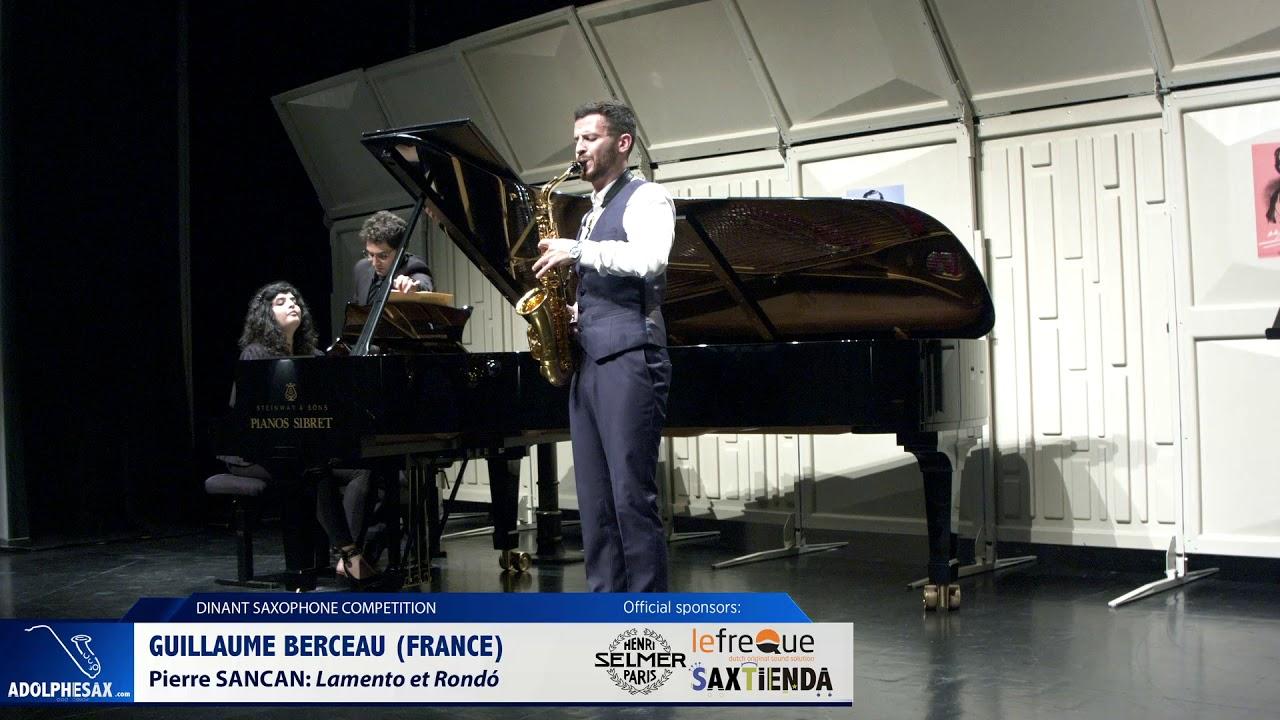 Guillamue Berceau (France)- Lamento et Rondó by Pierre Sancan (Dinant 2019)