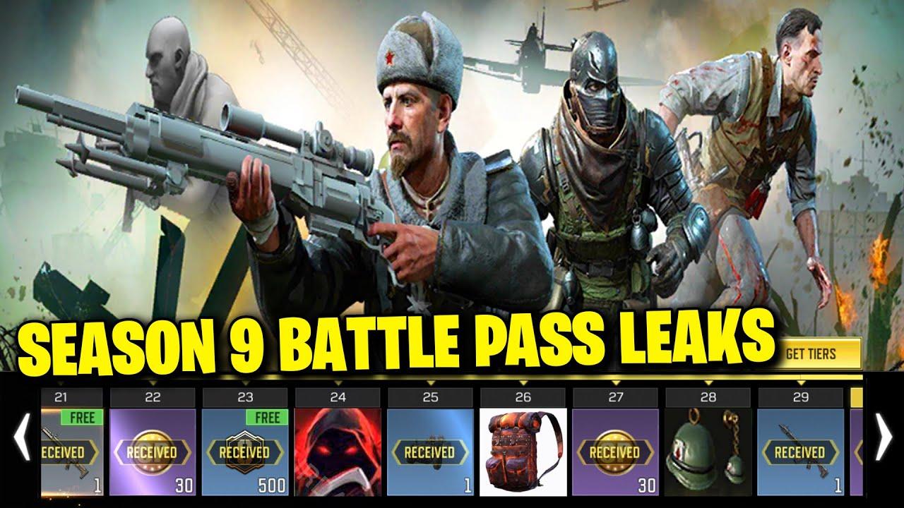COD MOBILE SEASON 9 BATTLE PASS REWARDS LEAKS! (Call of Duty Mobile Season 9 FREE Battle Pass)