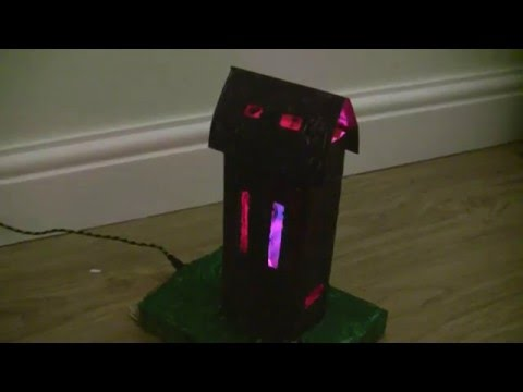Plants vs Zombies DIY Tombstone with Lights!