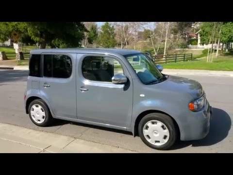2014 Nissan cube 1.8l cvt review and thoughts 4k