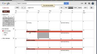 How to Set Up Events in Google Calendar