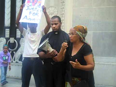 Redeem Aiyana's Dream Rally at the Justice Departm...