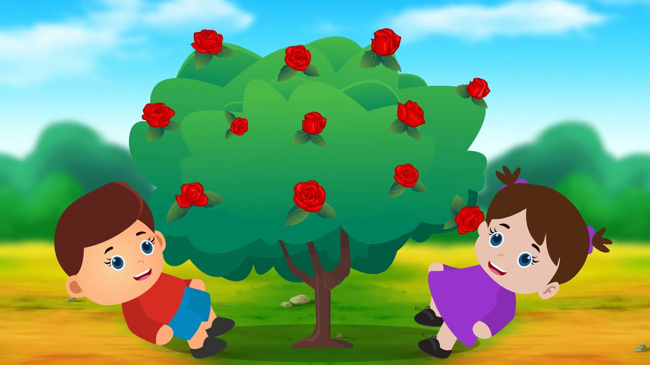 Ring A Ring O Roses! Classic Nursery Rhyme for Children