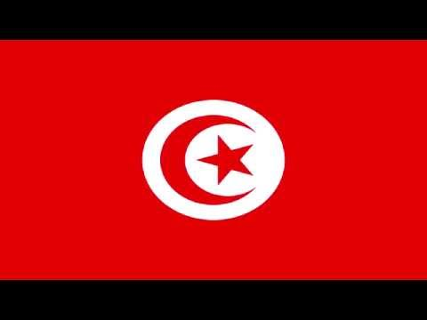 Bandera e Himno Nacional de Túnez - Flag and National Anthem of Tunisia