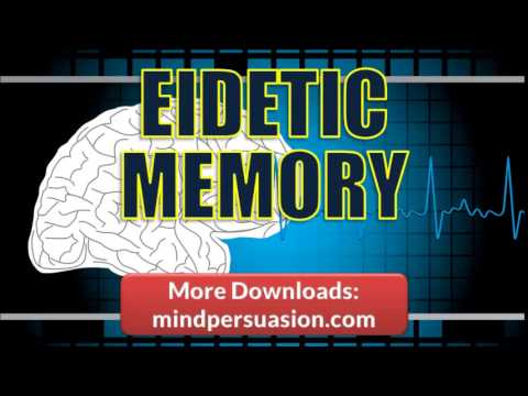 Photographic Memory   Release Your Genius   Eidetic Memory Power