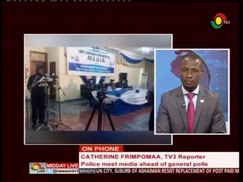 MiddayLive - Police meets media heads ahead of general polls 26/5/2016