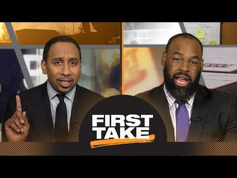 McNabb calls for fan to be arrested and charged | First Take | ESPN
