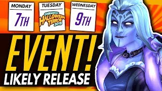 Overwatch | Halloween Terror 2019 Likely Release Date + Legendary Zarya Skin Coming Soon!