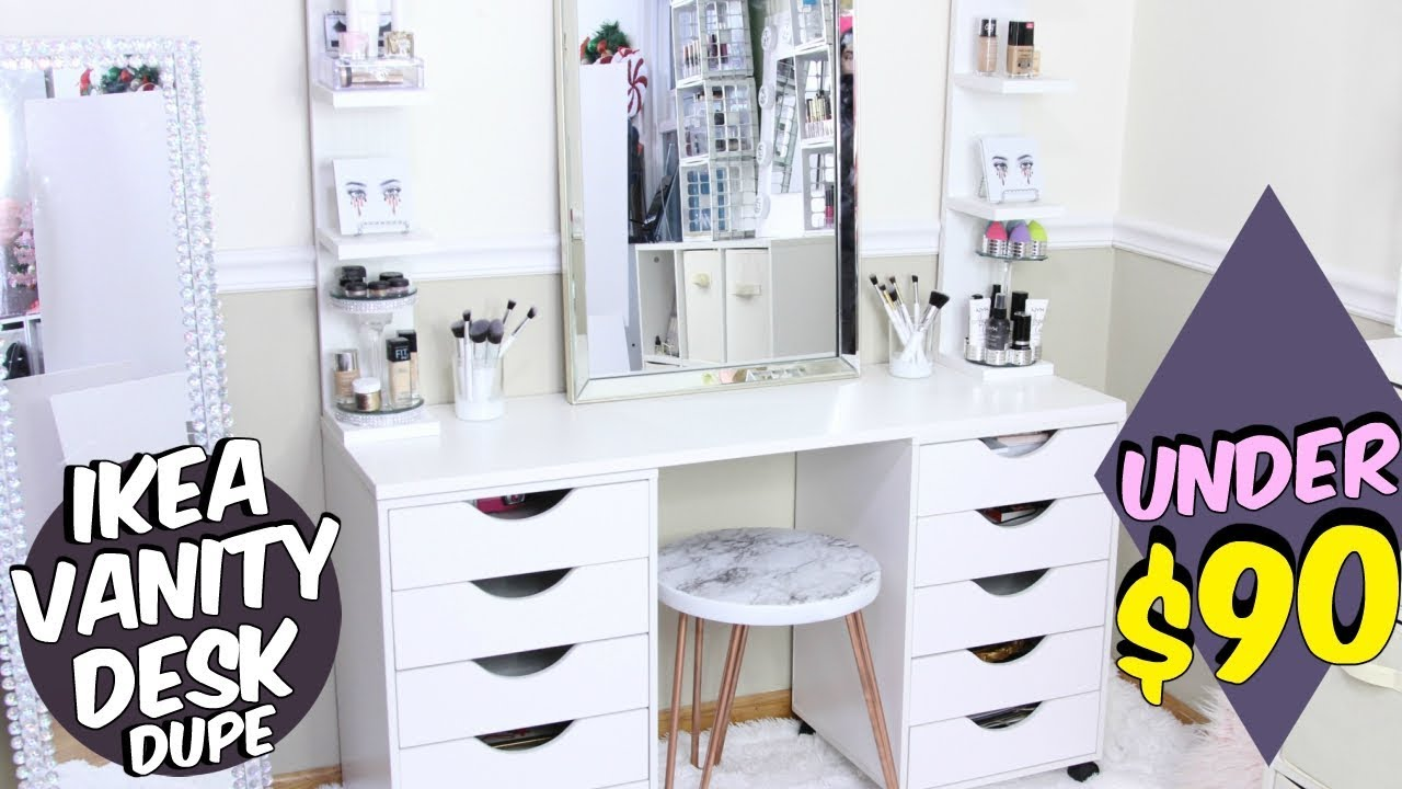 Ikea Vanity Makeup Table