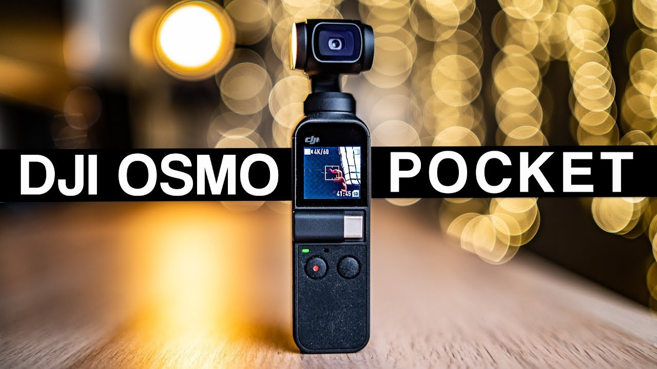 DJI OSMO POCKET IN-DEPTH REVIEW! THE GAME CHANGER! FOOTAGE SAMPLES - HOW TO  OPERATE - DJI MIMO APP