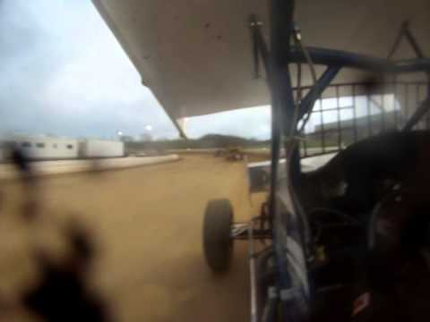 Selinsgrove Speedway Shannon Fisher Crash