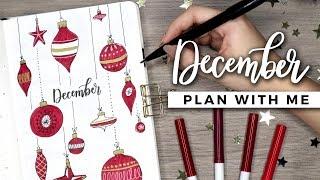 PLAN WITH ME | December 2018 Bullet Journal Setup