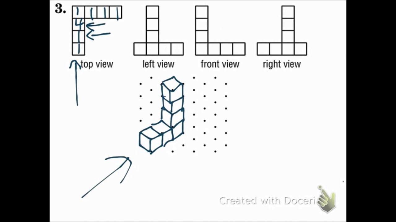 Geometry 12 1 Representations Of Three Dimensional Figures