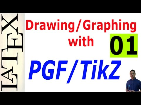Basic and Advanced Drawing/Graphing in LaTeX Using PGF/TikZ, Part-01.
