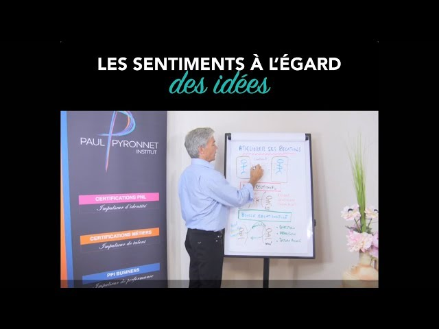 Les sentiments à l'égard des idées - Paul Pyronnet