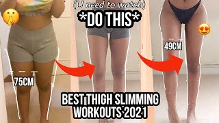 Top thigh & leg workouts of 2021 - The workouts that changed EVERYTHING!
