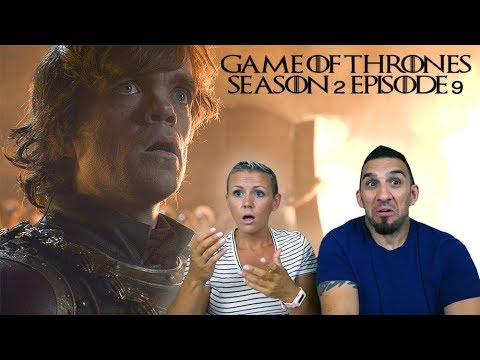Game Of Thrones Season 2 Episode 9 'Blackwater' REACTION!!