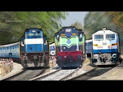 Single Line Trains : Indian Railways (Bangalore - Arsikere)