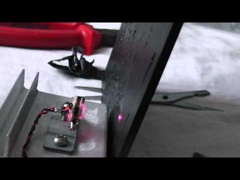High power IR laser diode