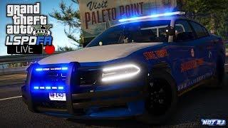 Video GTA 5 LSPDFR LIVE - Day 145 | Georgia State Patrol (SASP) | LSPDFR LIVE GSP Based Highway Patrol download MP3, 3GP, MP4, WEBM, AVI, FLV November 2018