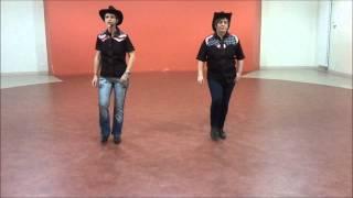 GRUNDY GALLOP Line Dance - compte et danse